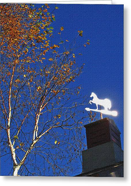 Windvane Greeting Cards - Winds of change Greeting Card by Dave Ruch