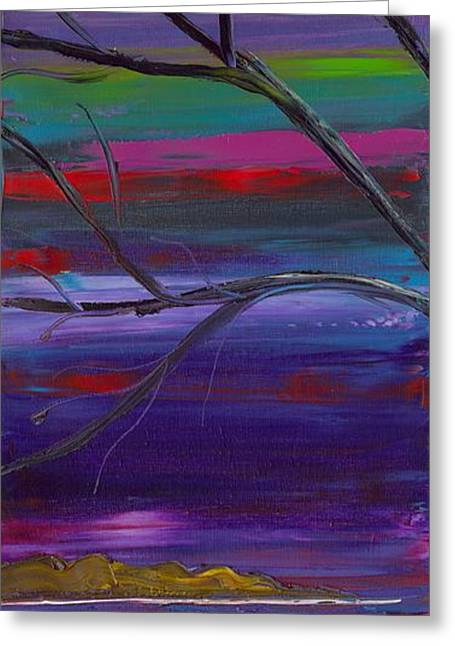 Jessilyn Park Greeting Cards - Winds of Change LEFT Greeting Card by Jessilyn Park