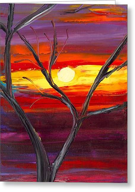Jessilyn Park Greeting Cards - Winds of Change MIDDLE Greeting Card by Jessilyn Park