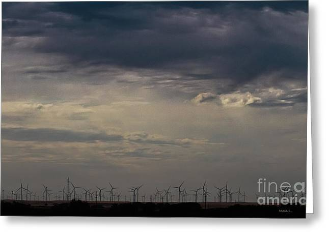 Alternative Home Decor Greeting Cards - Winds Of Change Greeting Card by Mitch Shindelbower