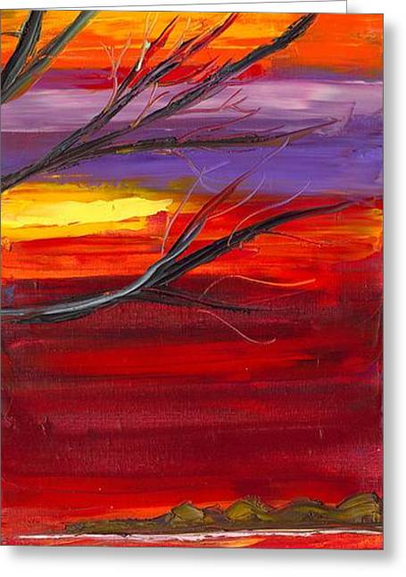 Jessilyn Park Greeting Cards - Winds of Change RIGHT Greeting Card by Jessilyn Park