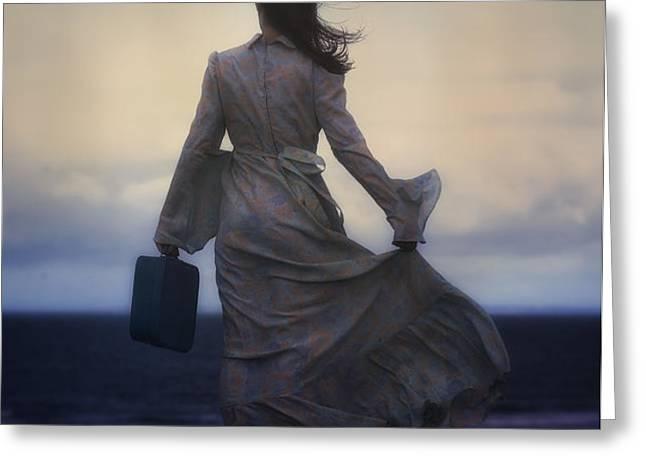 windy journey Greeting Card by Joana Kruse