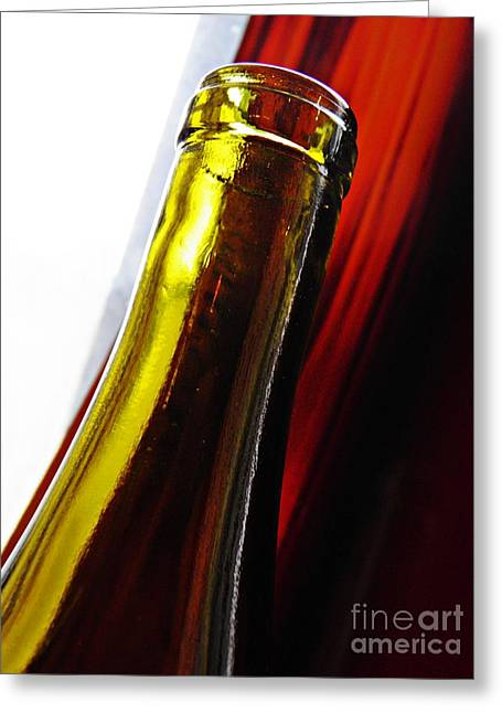Medical Greeting Cards - Wine Bottles 13 Greeting Card by Sarah Loft