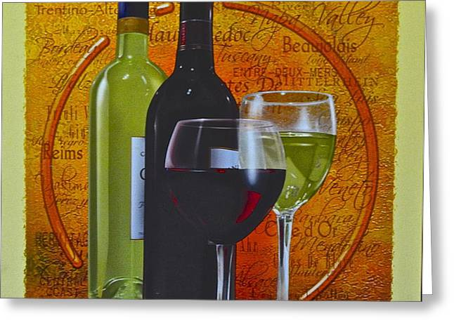 Wine Country Greeting Card by Frozen in Time Fine Art Photography
