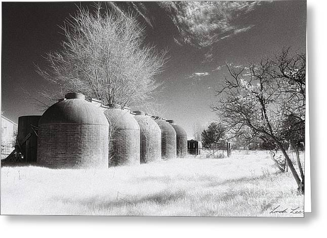Wine Vats Rutherglen Greeting Card by Linda Lees