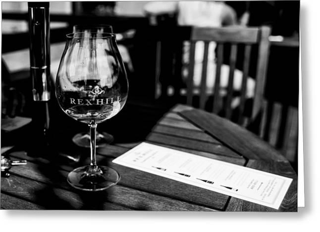 Winetasting Greeting Card by  Kelly Hayner
