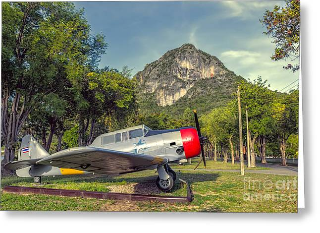 Hdr Digital Greeting Cards - Wing 5 Thailand Greeting Card by Adrian Evans