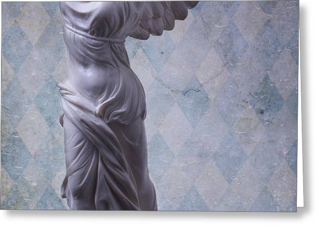 Winged Victory Greeting Card by Garry Gay