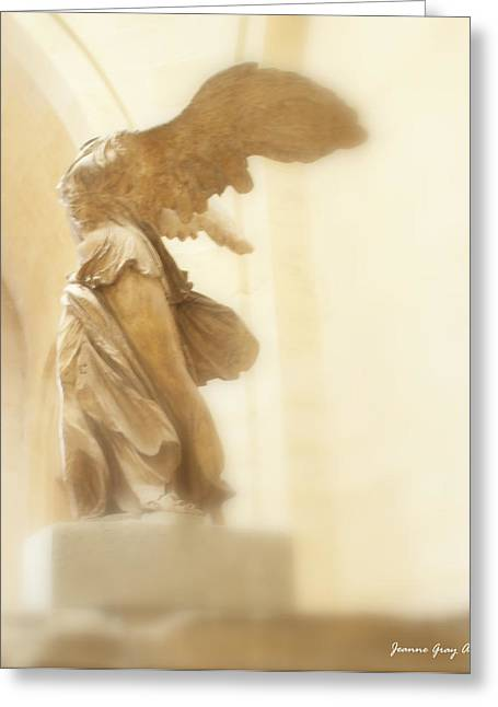 """winged Victory"" Greeting Cards - Winged Victory Greeting Card by Jeanne Gray Amato"