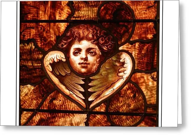 Gospel Greeting Cards - Wings Of An Angel Greeting Card by Marcia Lee Jones