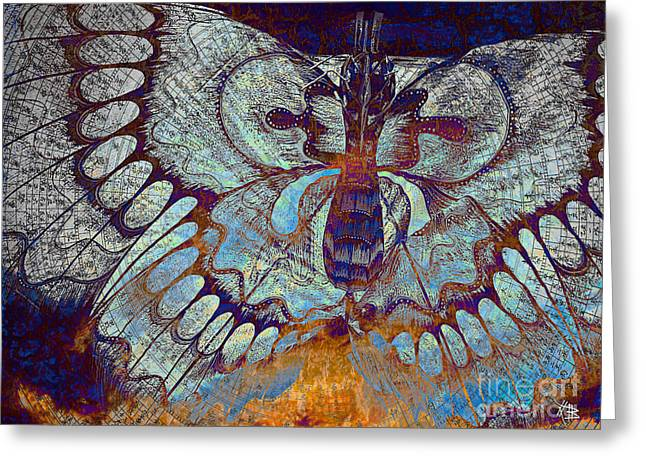 Wings Of Destiny Greeting Card by Christopher Beikmann