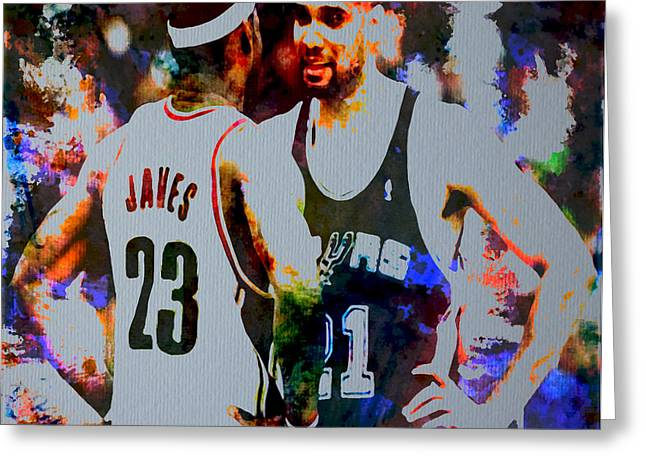 Miami Heat Digital Art Greeting Cards - Winners Greeting Card by Brian Reaves