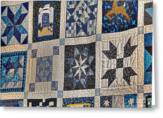 Winning Quilt Greeting Card by Timothy Flanigan and Debbie Flanigan Nature Exposure