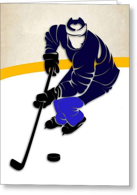 Winnipeg Jets Rink Greeting Card by Joe Hamilton
