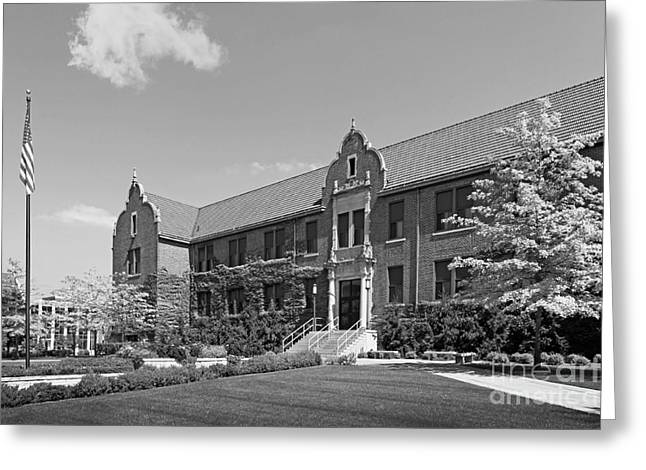 Great Cities Universities Greeting Cards - Winona State University Phelps Hall Greeting Card by University Icons