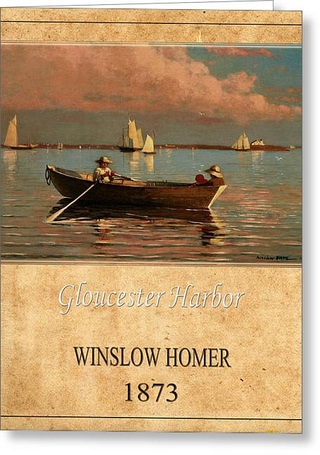Winslow Homer Photographs Greeting Cards - Winslow Homer 1 Greeting Card by Andrew Fare