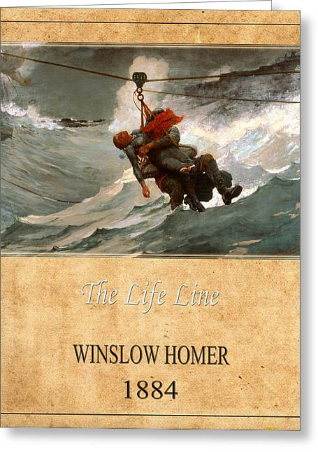 Winslow Homer Photographs Greeting Cards - Winslow Homer 3 Greeting Card by Andrew Fare