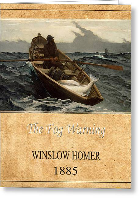 Winslow Homer 4 Greeting Card by Andrew Fare