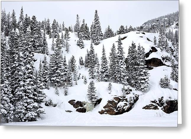 Whalley Greeting Cards - Winter at Bear Lake Greeting Card by Tranquil Light  Photography