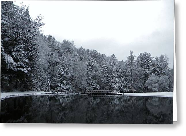 Winter At Clear Creek Greeting Card by Anthony Thomas