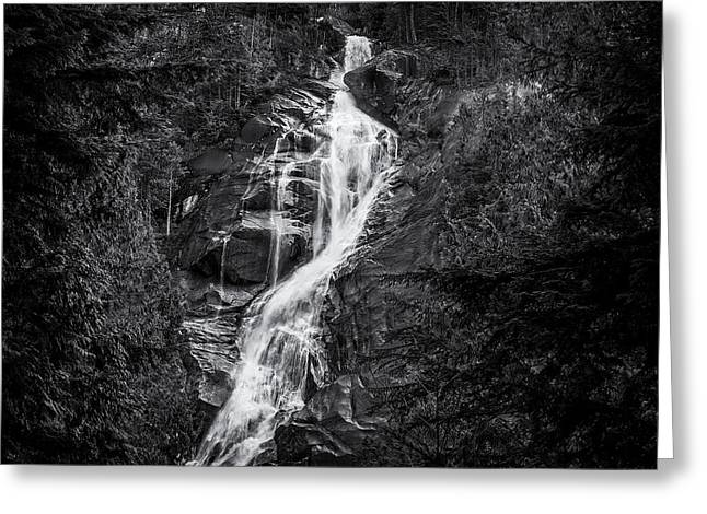 Shannon Greeting Cards - Winter at Shannon Falls Greeting Card by Paul W Sharpe Aka Wizard of Wonders