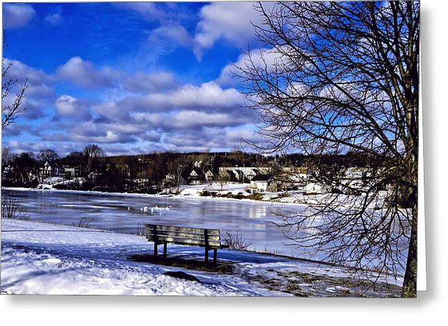 Snow Scence Greeting Cards - Winter Beauty Greeting Card by Kathleen Sartoris