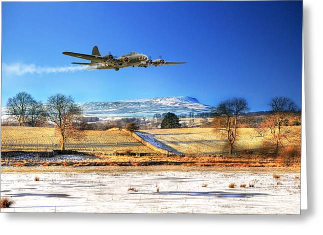 Usaac Greeting Cards - Winter Belle Greeting Card by J Biggadike