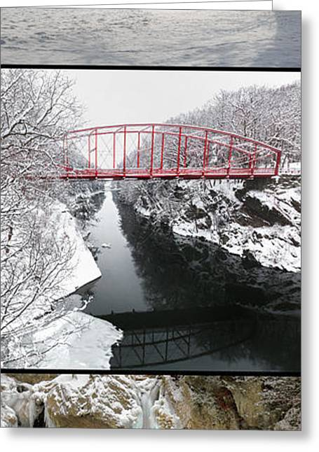 Winter In New England Greeting Cards - Winter Greeting Card by Bill  Wakeley