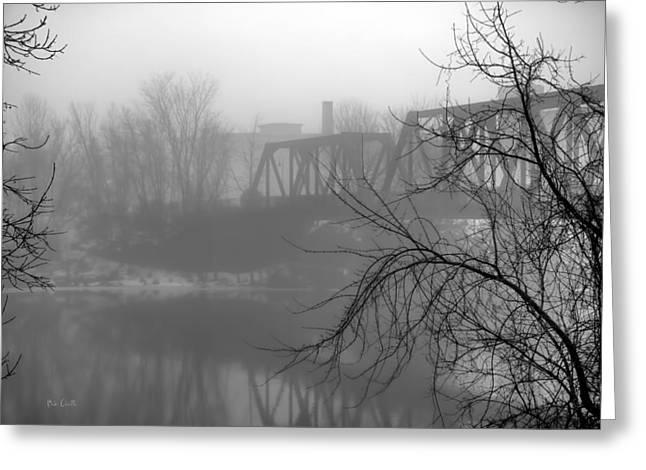 Winter Fog Greeting Card by Bob Orsillo