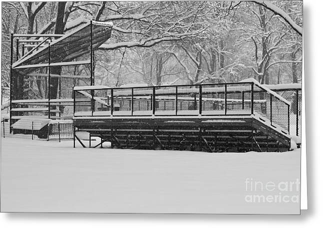 Pearly Gates Greeting Cards - Winter Games Greeting Card by Sean Conklin
