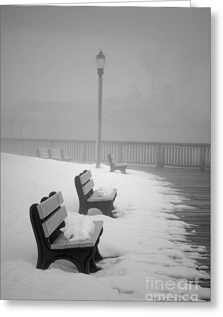 Winter Landscape IIi Greeting Card by Dave Gordon