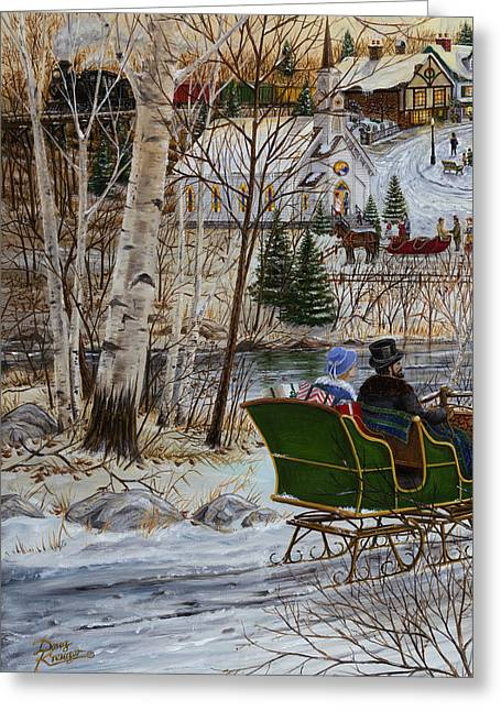 Size 3 Greeting Cards - Winter Memories 1 of 3 Greeting Card by Doug Kreuger