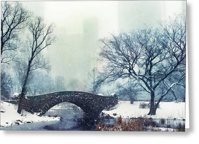 Winter Mood Greeting Card by Jessica Jenney