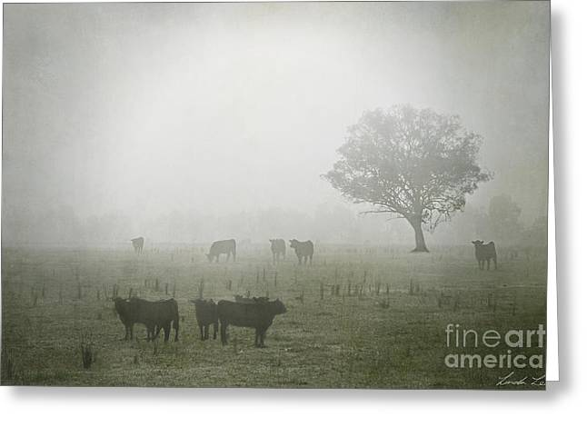 Winter Day Greeting Cards - Winter Morning Londrigan 5 Greeting Card by Linda Lees