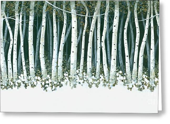 Michael Swanson Greeting Cards - Winter Sentinels  Greeting Card by Michael Swanson