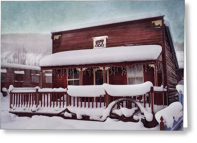 winter sleep Greeting Card by Priska Wettstein