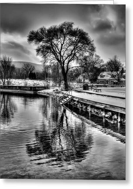 Finger Lakes Greeting Cards - Winter Snows Greeting Card by Joshua House