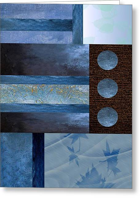Winter Solstice Greeting Cards - Winter Solstice 1 Greeting Card by Ellen Henneke