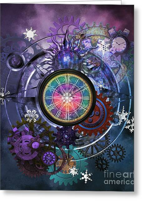 Psp Greeting Cards - Winter Solstice 2014  Greeting Card by Putterhug  Studio