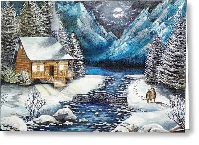 Kevin F Heuman Greeting Cards - Winter Solstice Greeting Card by Kevin F Heuman