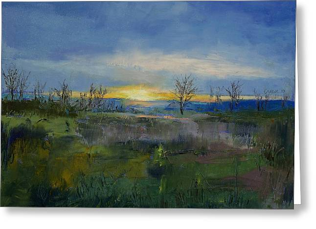 Winter Solstice Greeting Cards - Winter Solstice Greeting Card by Michael Creese