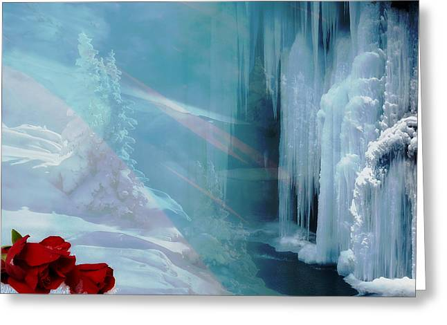 Artistic Vision Greeting Cards - Winter Visions Greeting Card by Mountain Dreams