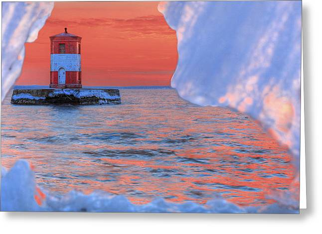 The Houses Greeting Cards - Winter Watch Greeting Card by JC Findley