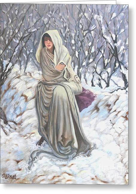 Winter Wonderland Greeting Card by Caroline Street
