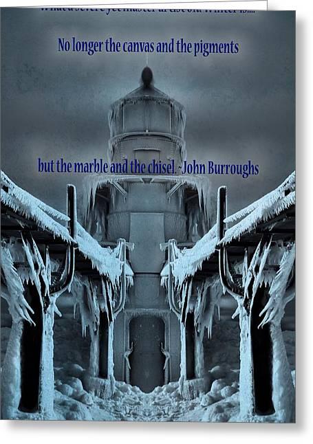 Saint Joseph Greeting Cards - Winter Wonderland Greeting Card by Dan Sproul