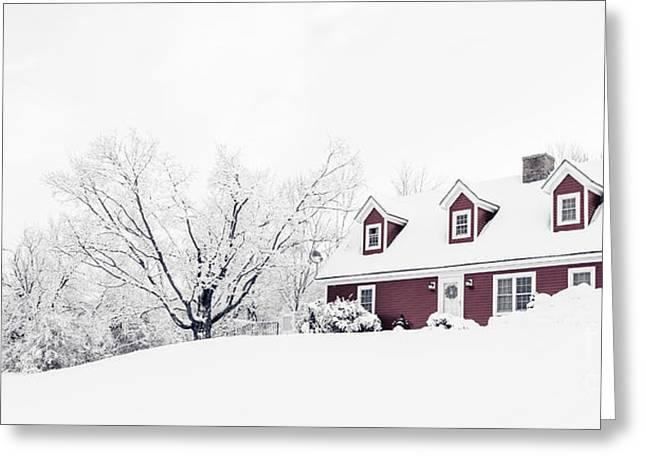 Winter Wonderland Greeting Card by Edward Fielding