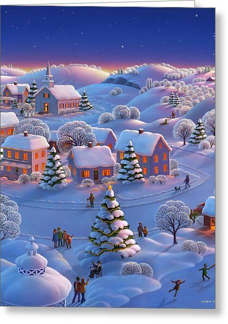 Robin Moline Greeting Cards - Winter Wonderland  Greeting Card by Robin Moline