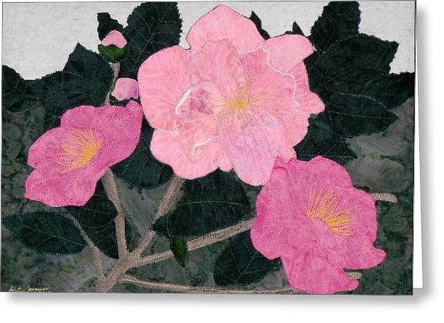Botanicals Tapestries - Textiles Greeting Cards - Winter Wonders Greeting Card by Anita Jacques