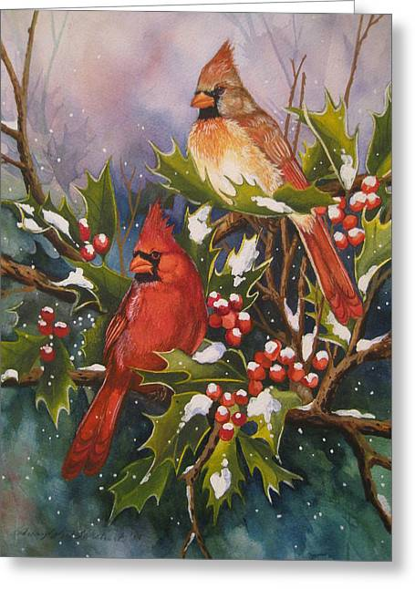 Cheryl Borchert Greeting Cards - Winter Wonders Greeting Card by Cheryl Borchert