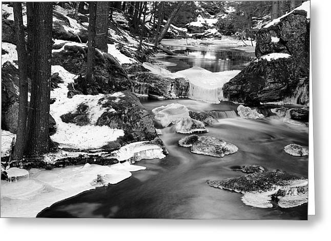 Wintry Photographs Greeting Cards - Winters Grace Greeting Card by Luke Moore